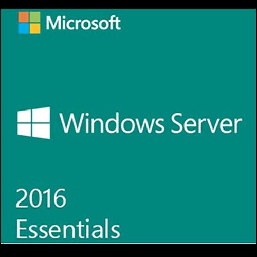 Windows Server Essentials 2016 - License, 64-bit, 1 server (1-2 CPU), OEM