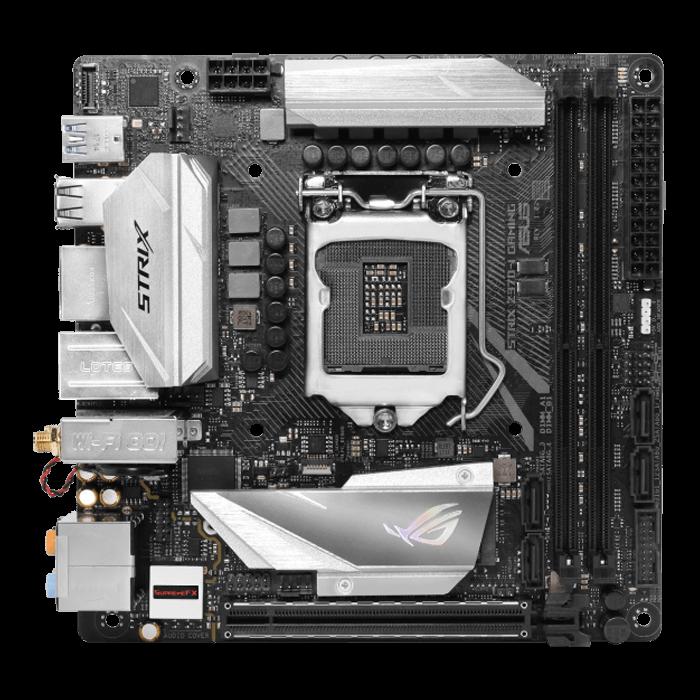 ROG STRIX Z370-I GAMING, Intel Z370 Chipset, LGA 1151, HDMI, Mini-ITX  Motherboard