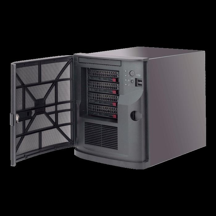 SuperServer 5029AP-TN2, Mini Tower, Intel® Atom™ Processor E3940, 6x SATA,  DDR3, Dual 1Gb Ethernet, 250W PSU