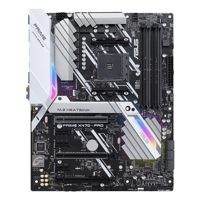 PRIME X470-PRO, AMD X470 Chipset, AM4, HDMI, ATX Motherboard