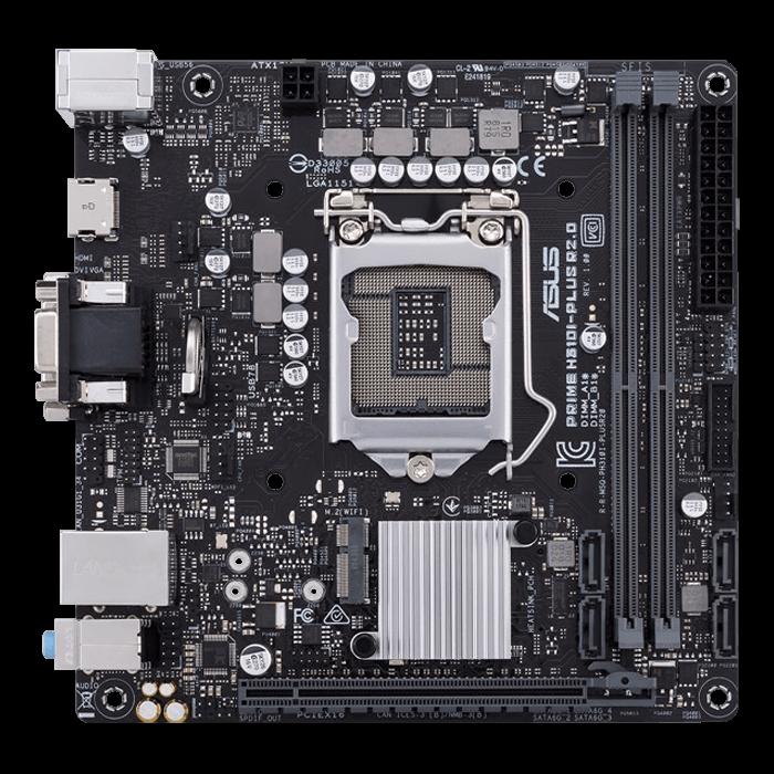 ASUS PRIME H310I-PLUS R2.0/CSM Intel H310 Chipset Mini-ITX Motherboard   AVADirect