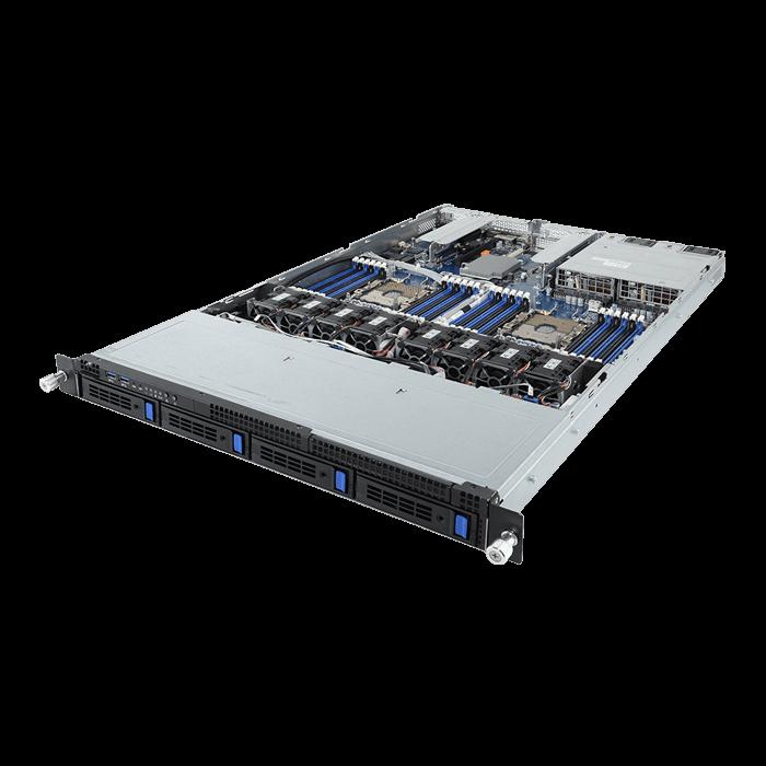 R181-340, 1U, Intel® C621, 4x 3 5