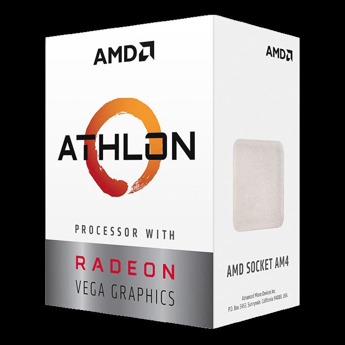 Amd Athlon 220ge 2 Core 3 4ghz Am4 35w Tdp Processor Avadirect