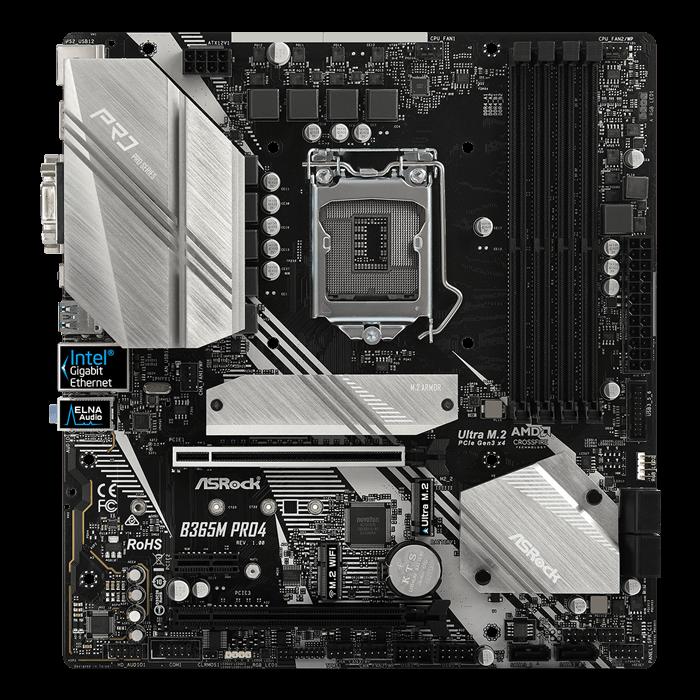 B365M Pro4, Intel B365 Chipset, LGA 1151, HDMI, microATX Motherboard