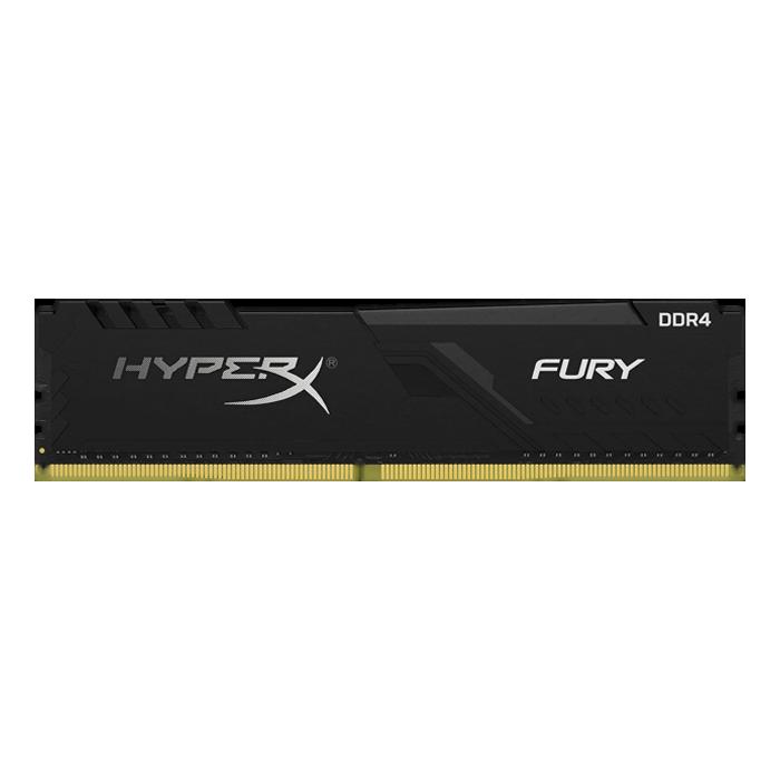 8GB HyperX FURY DDR4 3200MHz, CL16, Black, DIMM Memory