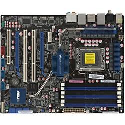 P6T WS Professional, LGA1366, Intel® X58, 6400 MT/s QPI, DDR3-2000 (O C )  24GB /6, PCIe x16 SLI CF /2, SAS RAID / 2, SATA 3 0 Gb/s RAID 5 /6, HDA,