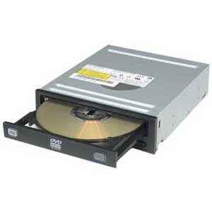 iHAS124 Black 24x DVD±RW Dual-Layer Burner, SATA, OEM