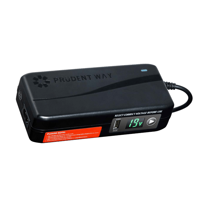 PWI-AD150HC Universal AC/DC Adapter, 12V-24V Output Selector, 150W, 12  Tips, USB, LCD Indicator