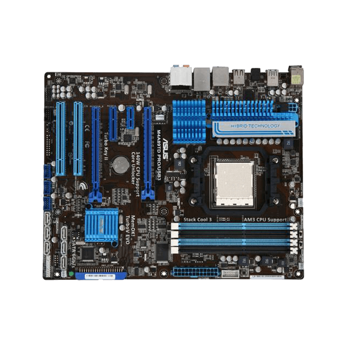 M4A89TD PRO/USB3, AMD 890FX Chipset, AM3, ATX Motherboard