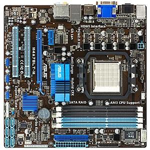 M4A78LT-M, AM3, AMD® 760G, DDR3-1800 (O C ) 16GB /4, PCIe x16 HCF, SATA 3  Gb/s RAID 10 /6, VGA+DVI, HDMI, HDA, GbLAN, mATX, Retail