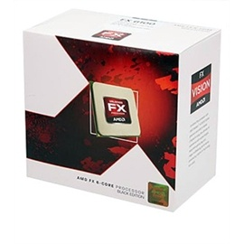 FX-6100 Six-Core 3.3 - 3.9GHz, AM3+, 8MB L3 cache, DDR3-1866, 95W, 32nm, Retail