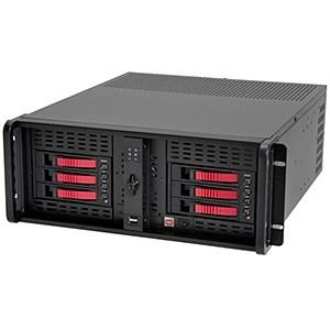 D 400 6 B6sa Red D Storm D 400 6 B6sa Black Red 4u Rack Server Chassis 6x Sas Sata Hdd No Psu Istarusa
