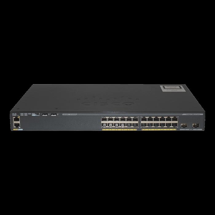 Catalyst 2960-X Switch, 24 x RJ45 10/100/1000, 2 x 10G SFP+, Ethernet Switch