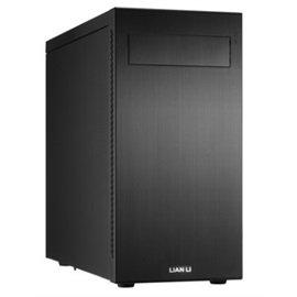 PC-A55B Black Mid-Tower Case, ATX, No PSU, Aluminum