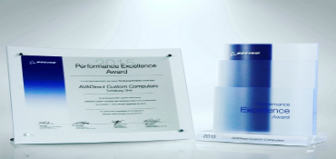 AVA wins Boeing Performance Award