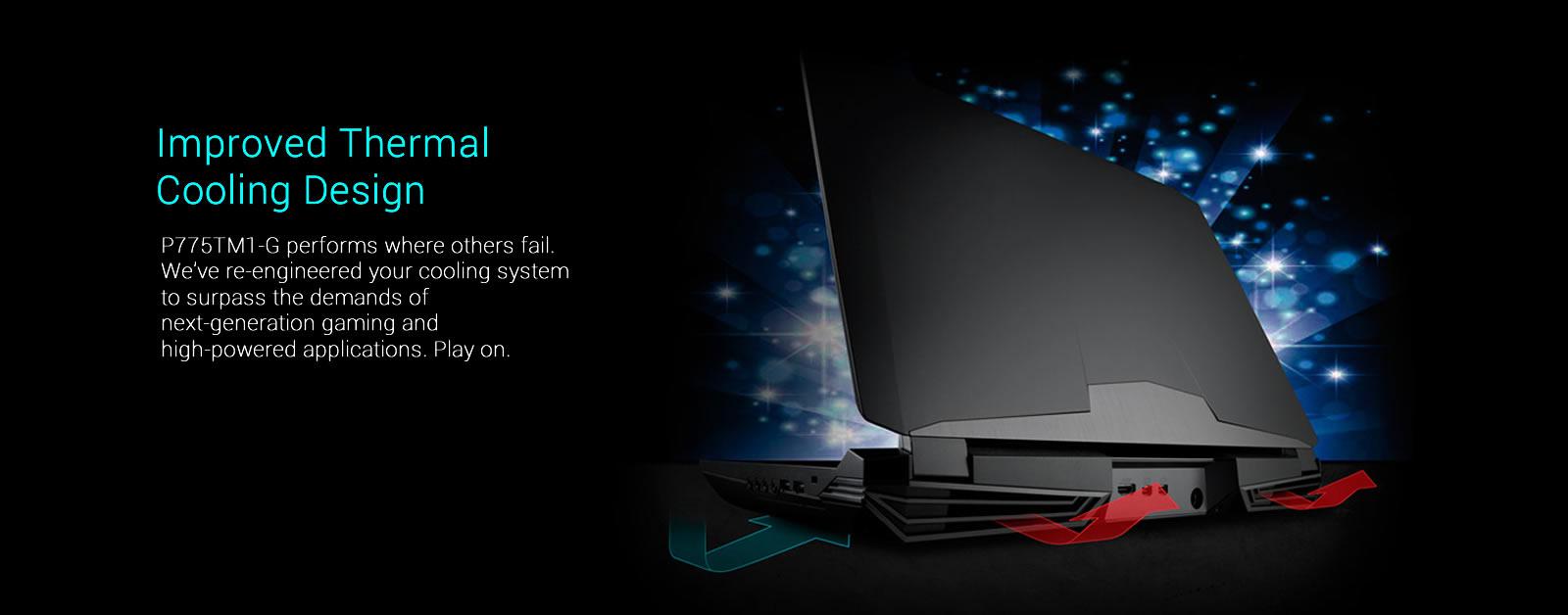 Quick Ship Clevo P775TM1-G2 (Sager NP9176-G2) Gaming Laptop