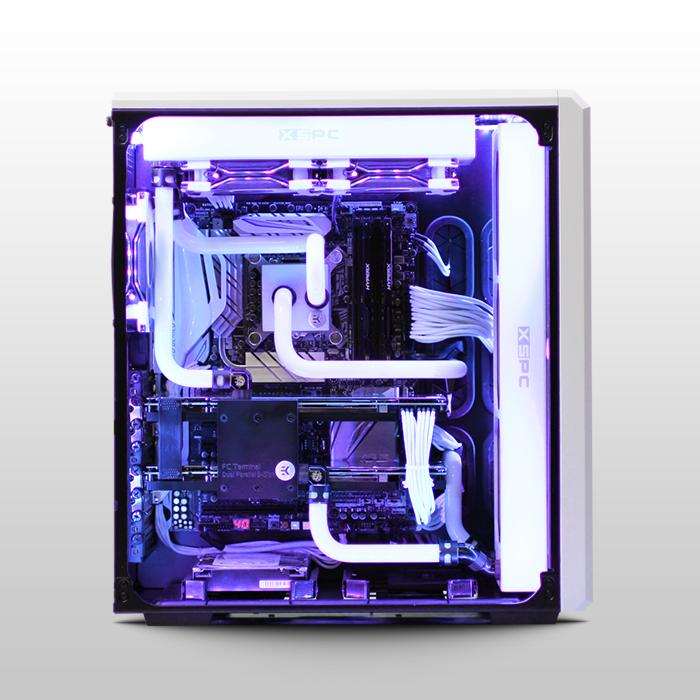 Avalanche Ii Hardline Liquid Cooled Custom Gaming Pc