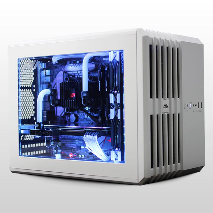 Avalanche Mini Hardline Liquid Cooled Custom Gaming Pc