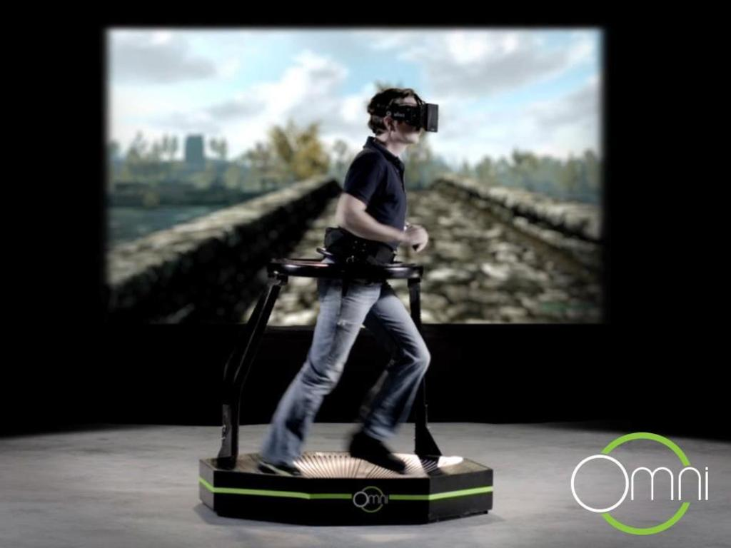 Virtuix Omni - virtual reality
