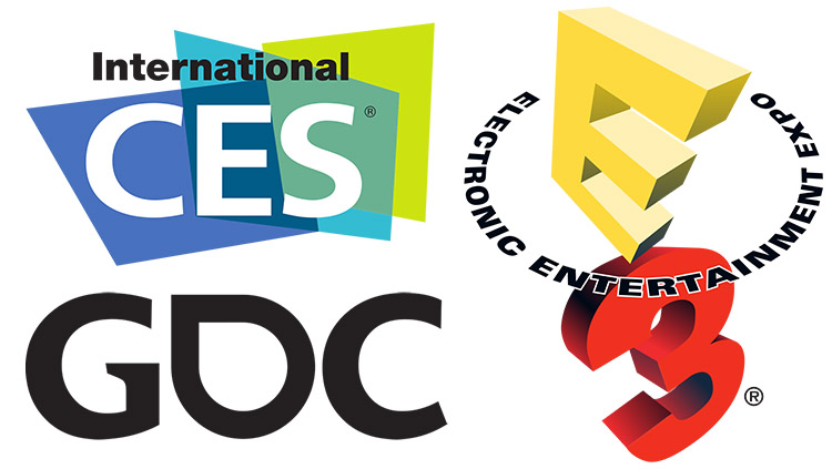 ces e3 and gdc trade shows for gaming and tech avadirect rh avadirect com e3 expo logo