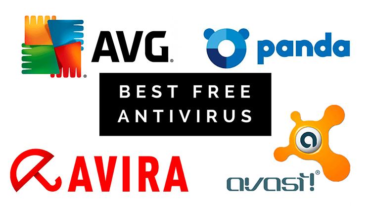 best free antivirus vs avg vs panda vs avira vs avast