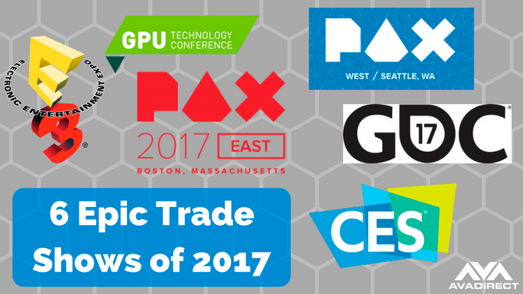 6 Epic Trade Shows in 2017