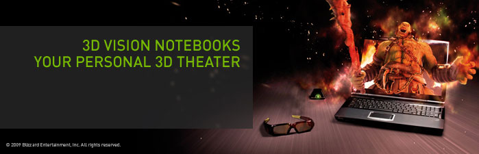 3D Vision Notebooks - Your Personal 3D Theater