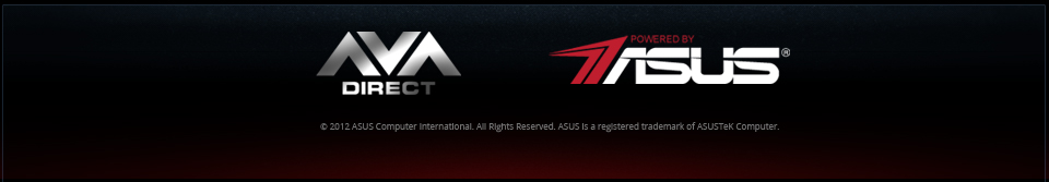 Powered by ASUS footer