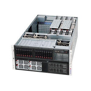 Supermicro SuperServer 5086B-TRF Westmere-EX 8-Way Xeon� SAS/SATA Series Server System