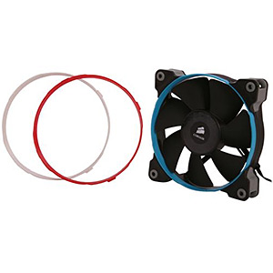 Air Series SP120 High Performance Edition 120mm Case Fan, 2350 RPM, 62.74 CFM, 35 dBA
