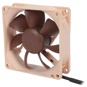 80mm Case Fan, 1800 RPM, 31.2 CFM, 17 dBA, Retail