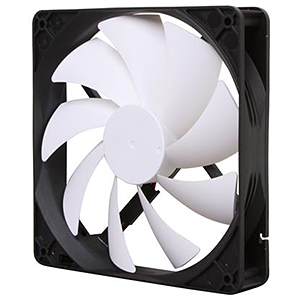 FN-140RB 140mm Case Fan, 1300 RPM, 62.5 CFM, 26.52 dBA
