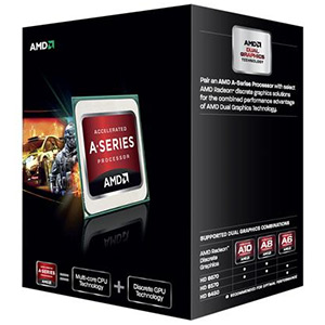 A6-5400K Dual-Core 3.6 - 3.8GHz TC, HD Graphics, FM2, 1MB L2 cache, DDR3-1866, 32nm, 65W, Retail