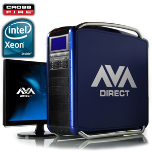 Dual Six-Core Xeon� 5600 / 5500 CrossFireX� Custom Gaming System / Workstation
