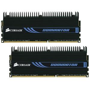 8GB (2 x 4GB) Dominator PC3-12800 DDR3 1600MHz CL9 (9-9-9-24) 1.65V SDRAM DIMM, Non-ECC