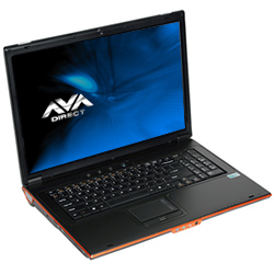 Clevo M570RU Core�2 Extreme Gaming Notebook, 17