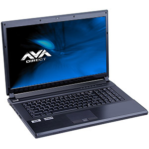 Quick Ship Clevo P170EM Gaming Notebook, 17.3