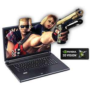 Clevo P170HM-3DE Core� i7 Gaming Notebook, 17.3