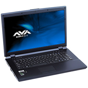 Clevo W170ER Core� i7 Gaming Notebook, 17.3
