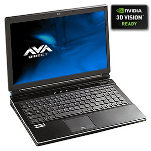 Clevo W860CU 3D Core�i7 Gaming Notebook, 15.6