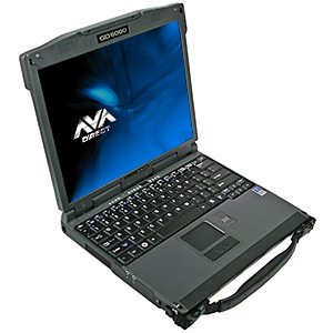 GD Itronix GD6000 Core� 2 Duo Rugged Notebook, 13.3
