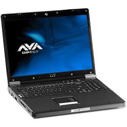 Clevo D901C Core™2 Gaming Notebook, 17.1