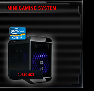 Powered by ASUS mini gaming system