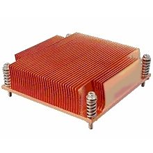 SNK-P0046P Socket 1156 Passive Heatsink for 1U Rack Server Chassis, Copper
