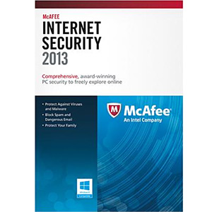 MCAFEE Internet Security 2013, 3 Users / 1 Year, Retail : AVADirect