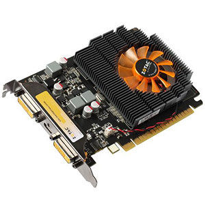 ZT-40707-10L, GeForce� GT 440 810MHz, 2GB GDDR3 1333MHz, PCIe x16, 2x DVI + mini-HDMI, Retail