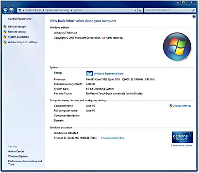 Gfc 02021 windows 7 home premium 32 bit edition w sp1 for New windows products