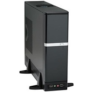 DM-387 Black Slim Case, mATX, 275W PSU, Steel