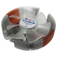 CNPS7500-AlCu LED CPU Cooler, Socket 1155/1156/775/AM3/AM2, 67mm Height, Copper/Aluminum, Blue LED