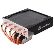 Nitrogon NT06-E Evolution CPU Cooling Heatsink, Socket 1155*/1156*/1366*/775/AM3/AM2, TDP 130W, 82mm Height, Copper/Aluminum